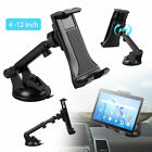 "360° Car Dashboard Windshield Mount Holder Stand for Phone & 4-12"" Tablets Pad"