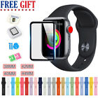 Series 1/2/3/4 Silicone Band Strap For Apple Watch iWatch Sports 38/42/40/44mm image