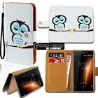 For Various BlackBerry SmartPhones Leather Smart Stand Wallet Case Cover