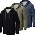 "New Mens Columbia ""Hart Mountain"" Full Zip Hoodie Sweaters Jacket фото"