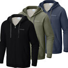 "New Mens Columbia ""Hart Mountain"" Full Zip Hoodie Sweaters Jacket"