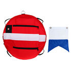 Freediving Buoy + Dive Boat Flag for Safety Underwater Scuba Diver Freediver