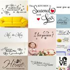 Hot!varies Of English Phrases&words Wall Stickers Home Words Decor Wall Sticker