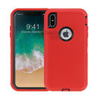 For Apple iPhone XS Max iPhone XS / X Case &quot;Clip Fits Otterbox Defender Series&quot;  <br/> CASE COVER TEMPERED GLASS PROTECTOR OPTION