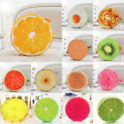 Home Office Sofa Plush Toys Creative Siulation 3D Round  Fruit Seat Pads Pillow