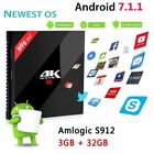 H96 PRO Plus+ Android 7.1 Smart TV Box Octa Core 4K HD Amlogic S912 Media Player