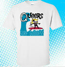 The Queers Band Surf Goddess Album Cover Men's White T shirt size S to 3XL image