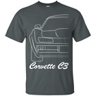 Chevy Corvette C3 Outline T-Shirt