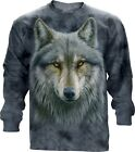 The Mountain Warrior Wolf Adult Unisex Longsleeve T Shirt