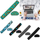 Keyboard Wrist Rest Pad and Mouse Gel Wrist Rest Support Cushion w/ Memory Foam