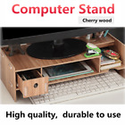 Desktop Computer Riser Stand TV LCD Screen Monitor Mount Display Desk Organizer