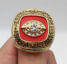 1969 KANSAS CITY CHIEFS SUPER BOWL Championship Ring 18k HEAVY GOLD PLATED *USA*