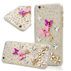 Custom-made Glitter Jewelled Bling Crystal Diamonds Soft Phone back Case Cover o