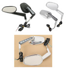 Pair Rearview Size Mirrors W/ LED Turn Signals For Harley V-Rod VRSCF 2009-2017 $55.55 USD on eBay