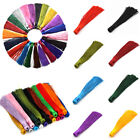 Внешний вид - US 10Pcs 12CM Colorful Tassels for DIY Jewelry Making Pendant Findings Materials