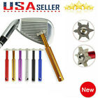 Golf Club Groove Sharpener Tool with 6 Cutters Original Ping U,V Square US