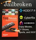 Jailbroken Amazon Fire Stick Kodi17.6 & Alexa Remote - Mega Edition Firestick