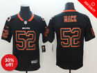 New Stitched Khalil Mack Chicago Bears Jersey Lights Out Black Limited Rush