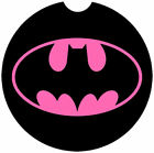"""""""BATMAN"""" Thick Rubber-Neoprene Car Coasters One Pair (2) For Car Cup Holder"""