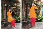 FULL STITCHED Patiala Salwar Kameez Suit Kurti Style Dhoti Ethnic Indian Shalwar
