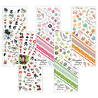 Nail Art Sticker Water Decal Manicure Stickers Colorful Design 5 Types 1+1
