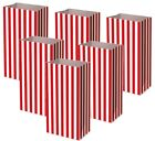 Red Pick and Mix Bags Birthday Party Candy Stripe Large Thick Paper Sweet Bag