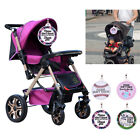 Baby Safety No Touching Newborn Baby Car Seat Tag Stroller Hang Shower Gift