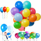 "Helium Balloons 12"" Latex Mixed Coloured for Festival Halloween Wedding Birthday"