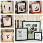 "Square Room Decor Wooden Picture Photo Wall Frame Multi-size 5""/6""/7""/8""/10"""