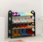 4/6/8/10 Tiers Shoe Rack Shelf Storage Stand Organiser For 12/18/24/30/50 Pairs