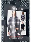 Ike Behar Women's Reversible Fashion Wrap