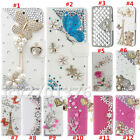 NEW Luxury Diamonds Crystal PU Leather wallet Cover Case For Cubot #1
