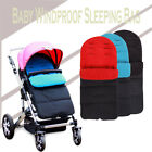Windproof Keep Warm Baby Sleeping Bag Stroller Foot Cover Pushchair UK Seller