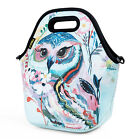 Cartoon Insulated Lunch Bag Kids Large Neoprene Lunch Bags for Women Food Tote