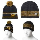NWT Caterpillar CAT Logo Beanie Construction Cap Hat Tractor Trucker Equipment