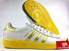 NEW adidas Originals FOREST HILLS CQ2083 WHITE, GOLD & EQT YELLOW Shoes n1