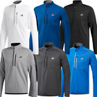 Adidas Golf 2019 Mens Climawarm Gridded 1/4 Zip Pullover Sweatshirt Top