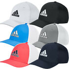 Adidas 2019 Mens A-Stretch Tour Fitted Golf Cap Breathable Mesh Baseball Hat