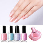 NICOLE DIARY 6ml Peel Off Nagellack Pearl Water based  Nagel Kunst Polish