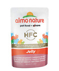 Almo Nature HFC Jelly  Wet Cat Food Pouch with Tuna & Shrimps (Pack of 24 x55g)