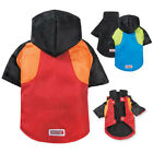 KONG Dog Coat Jacket with Fleece Lining Removable Warm Durable 3 in 1 Red Blue