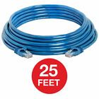 CAT 6 Ethernet Cable Lan Network CAT6 Internet Modem Blue RJ45 Patch Cord LOT