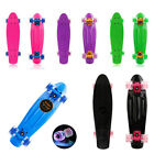 "22"" Skateboard Mini Cruiser Complete Penny Style Board Plastic Deck 5 Colors US  image"
