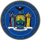 New York State Seal Vinyl Flag Decal Sticker  Multiple Sizes To Choose From