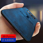For Samsung S10 Plus S20 FE Note 20 S21 Ultra Case Hybrid Soft TPU Leather Cover