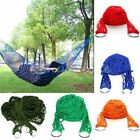 Portable Garden Hammock Mesh Net Hang Rope Travel Camping Outdoor Swing Bed US