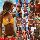 Women Push-up Padded Bra Bandage Bikini Set Swimsuit Swimwear Bathing Brazilian $8.27 USD on eBay