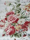 "Внешний вид - Ralph Lauren Antibes Red Floral Placemats/Napkins/Runner/Tablecloth 70""Rd+60x84"""