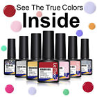 8ml LEMOOC Smalto Gel UV per Unghie Semipermanenti Nail UV Gel Polish Soak off