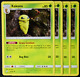 Pokemon - SM9 - Team Up - 4x Kakuna - 4/181 - Non-holo Rare - NM/M
